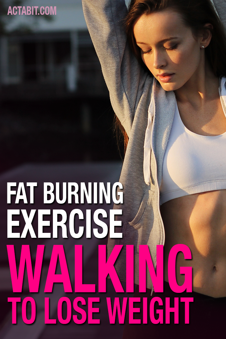 How to Lose Weight By Walking - Walk to Burn Belly Fat