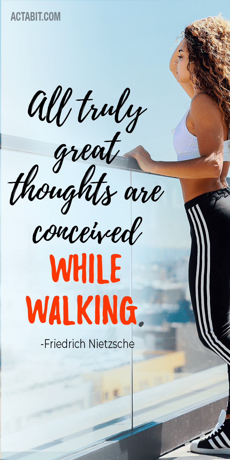 Walking Inspiration Quotes - Motivation to Exercise