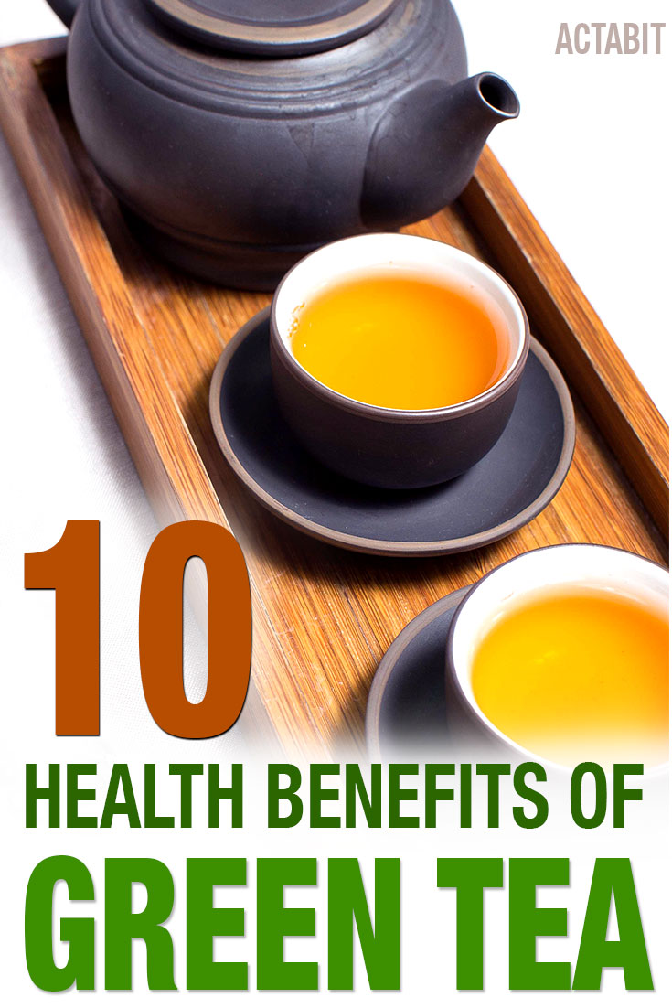 10 Science-Backed Health Benefits of Green Tea: The Healthiest Drink