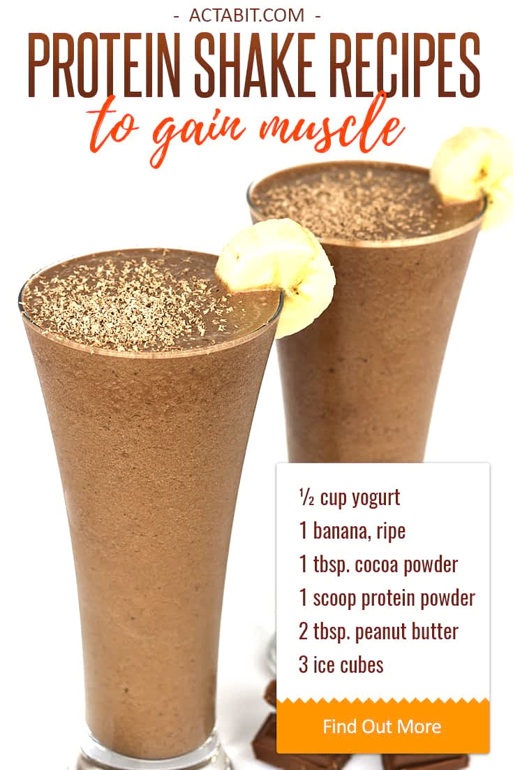 Healthy Protein Shake Recipes to Gain Muscle