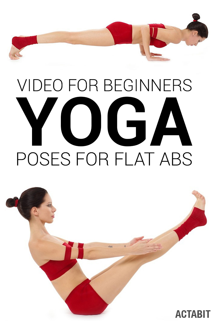 The Best Yoga Poses for Flat Abs - Video Workout for Beginners