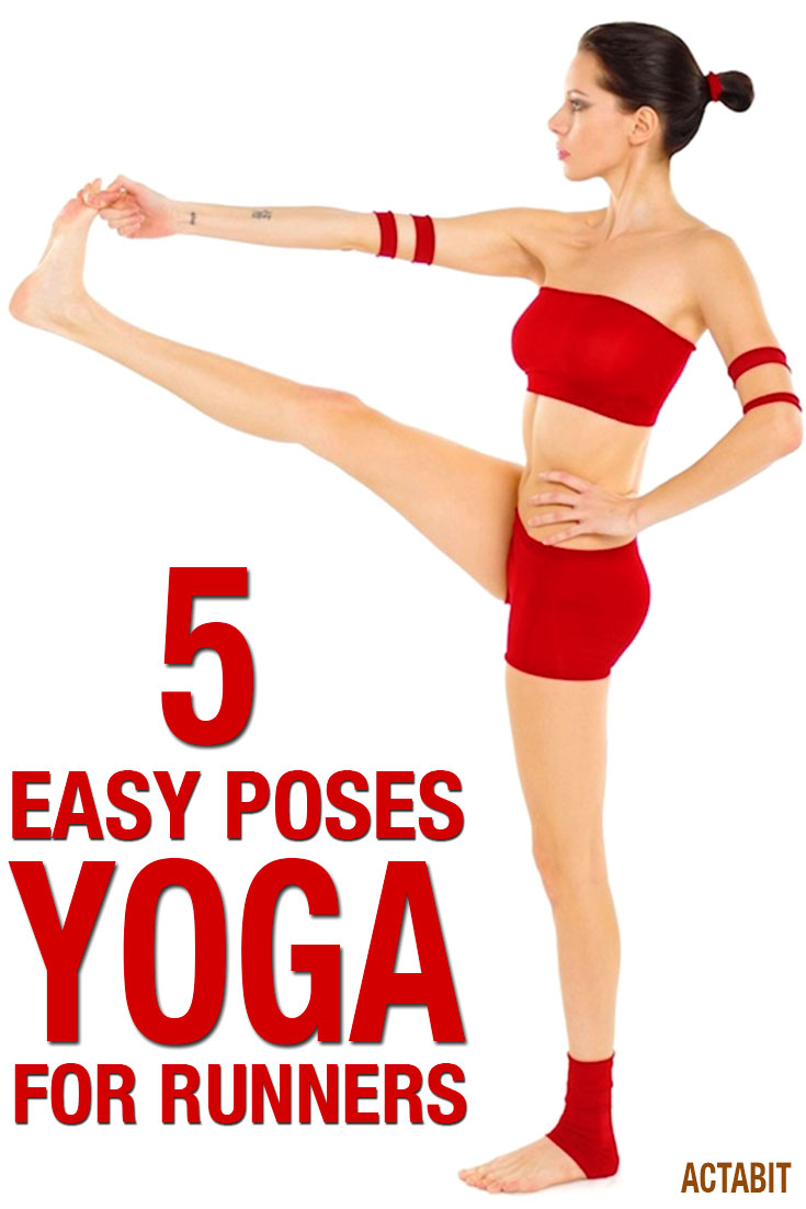 5 Yoga Poses for Runners - Video workout for beginners