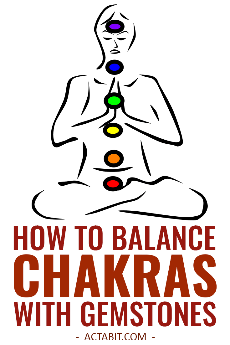 How to Balance Chakras With Stones - Chrystal Healing for Beginners