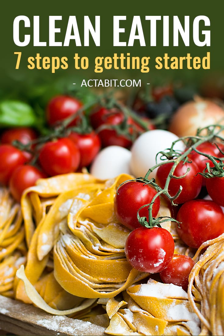 Clean Eating Guide for Beginners: 7 Simple Steps to Getting Started