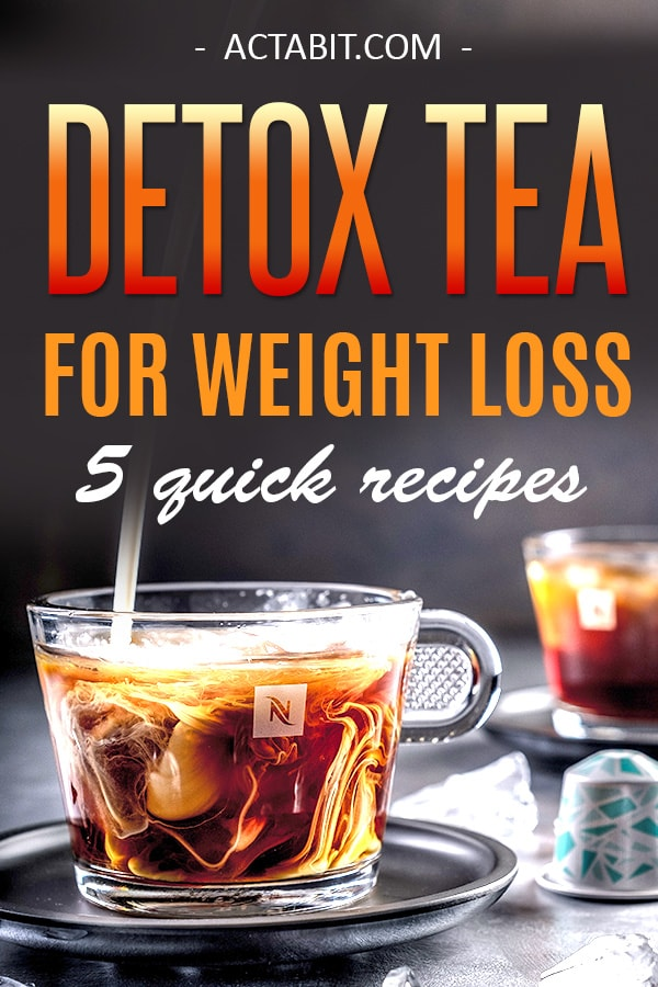 5 Detox Tea Recipes for Weight Loss - Best Homemade Drinks That Work