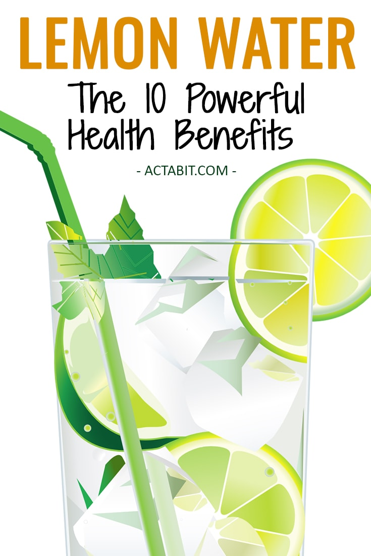 The 10 Powerful Health Benefits of Drinking Lemon Water