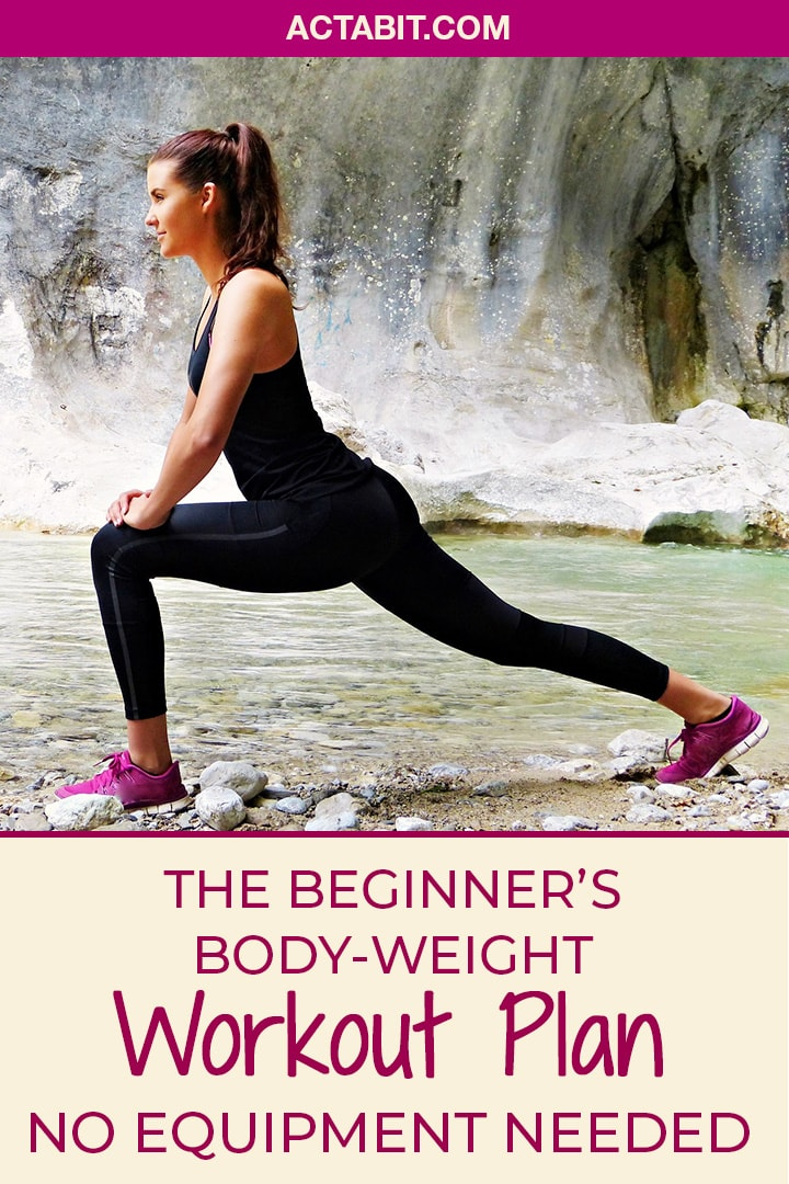 The Beginner's Bodyweight Workout Plan to Exercise Without Equipment