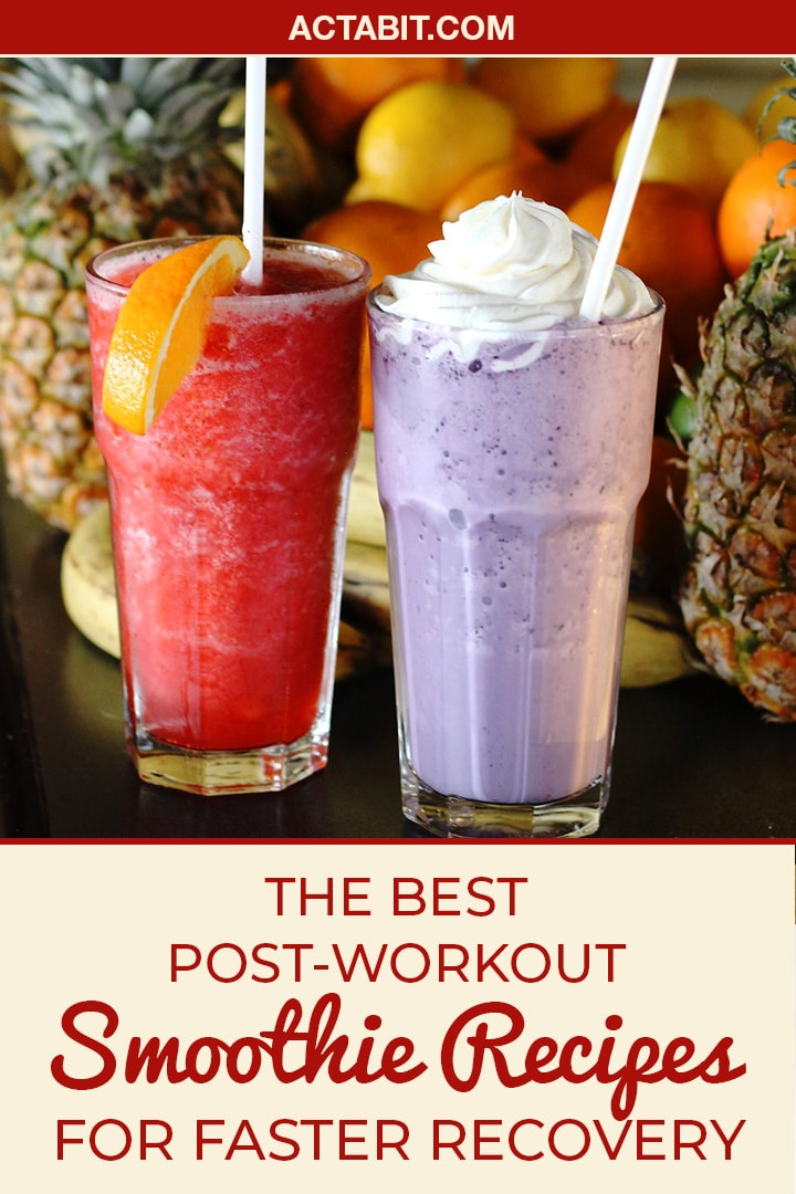 These easy and healthy post-workout smoothie recipes are packed with protein to speed up muscle recovery and weight loss.