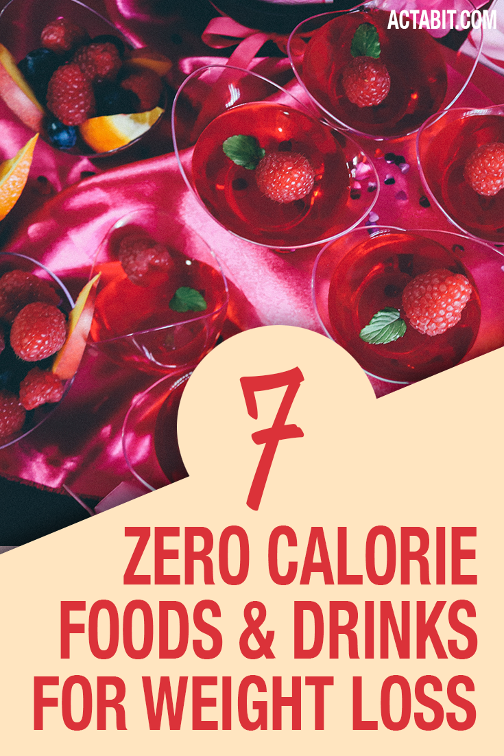 Zero-Calorie Foods and Drinks for Weight Loss