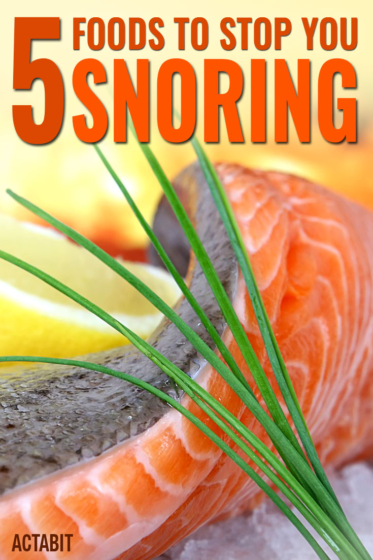 Top 5 Foods to Stop You Snoring
