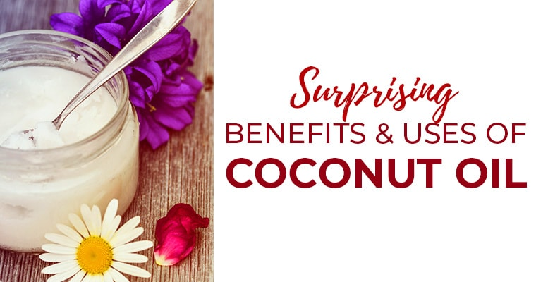 Surprising Health Benefits & Uses of Coconut Oil
